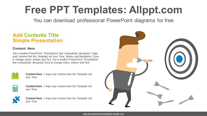 Successful Business PowerPoint Diagram posting image